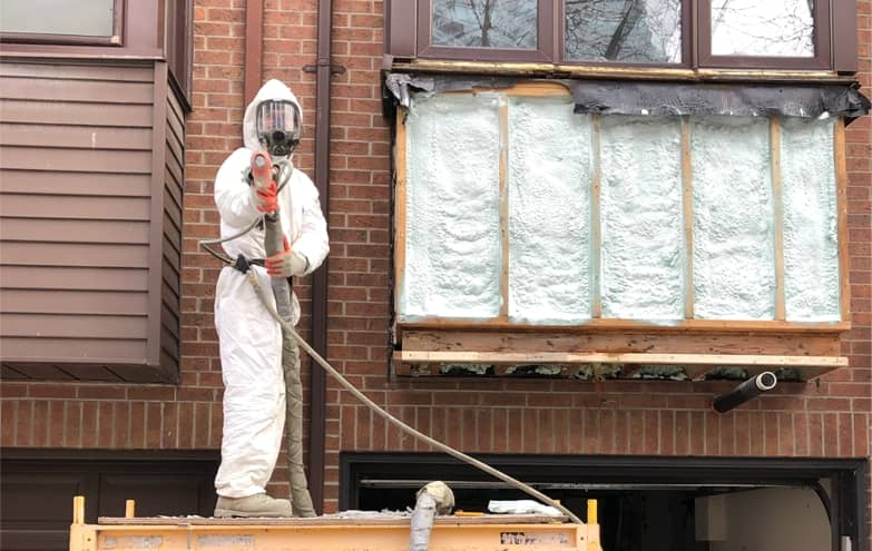 whole house spray foam insulation kit