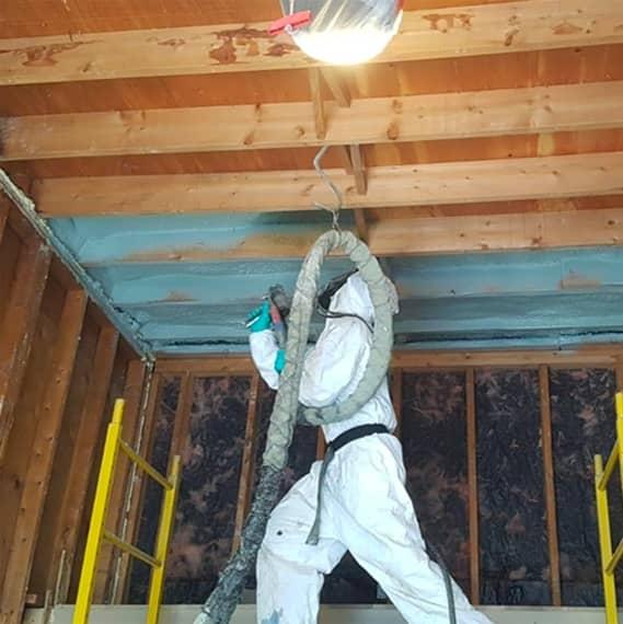 attic spray foam insulation