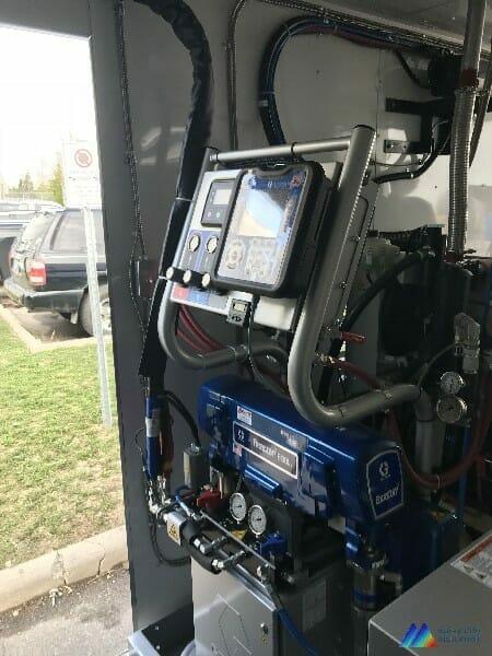 Spray Foam Insulation Installation Equipment
