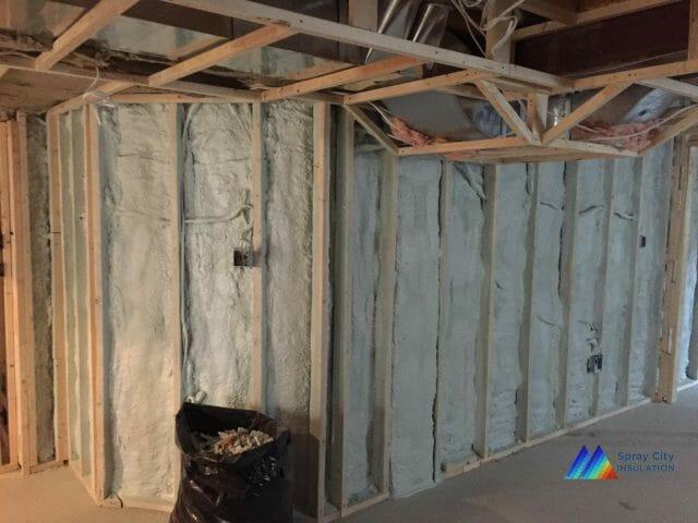 Woodbridge basement insulation