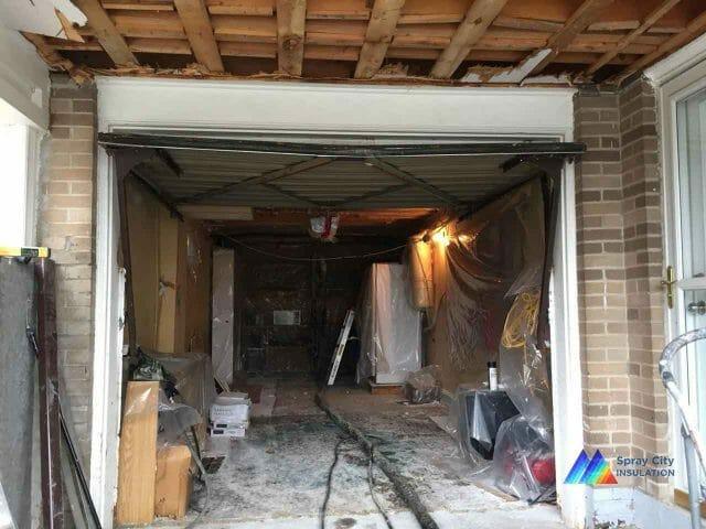 Scarborough Garage Ceiling Insulation