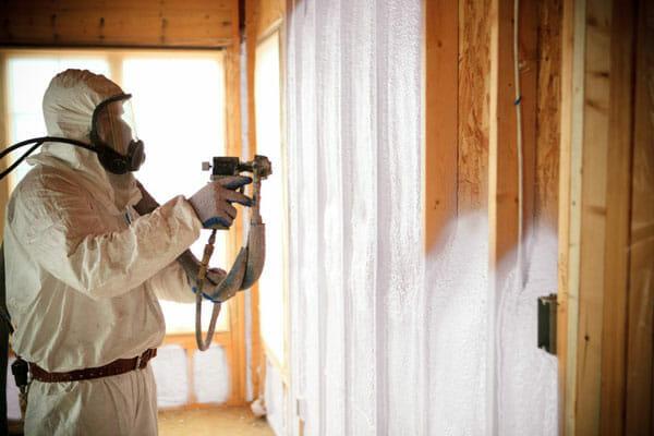 Spray Foam Insulation installed